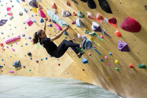 Bouldering at Steep Rock's East Side location