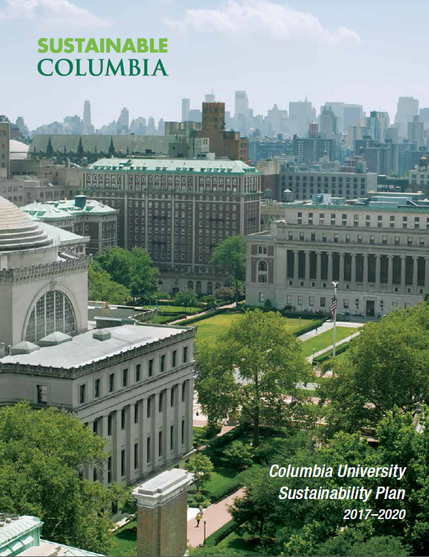 Columbia University Sustainability Plan