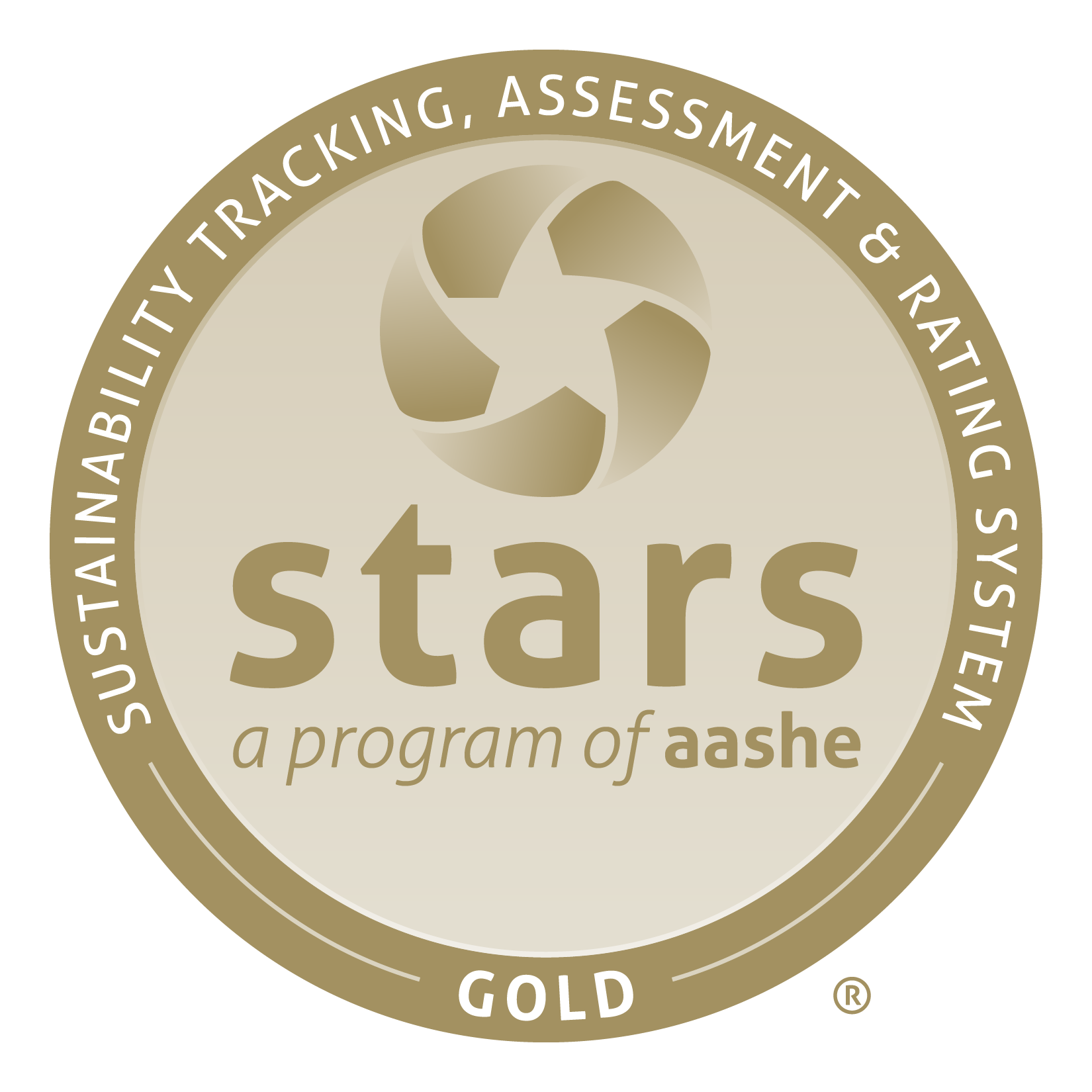 AASHE Gold seal