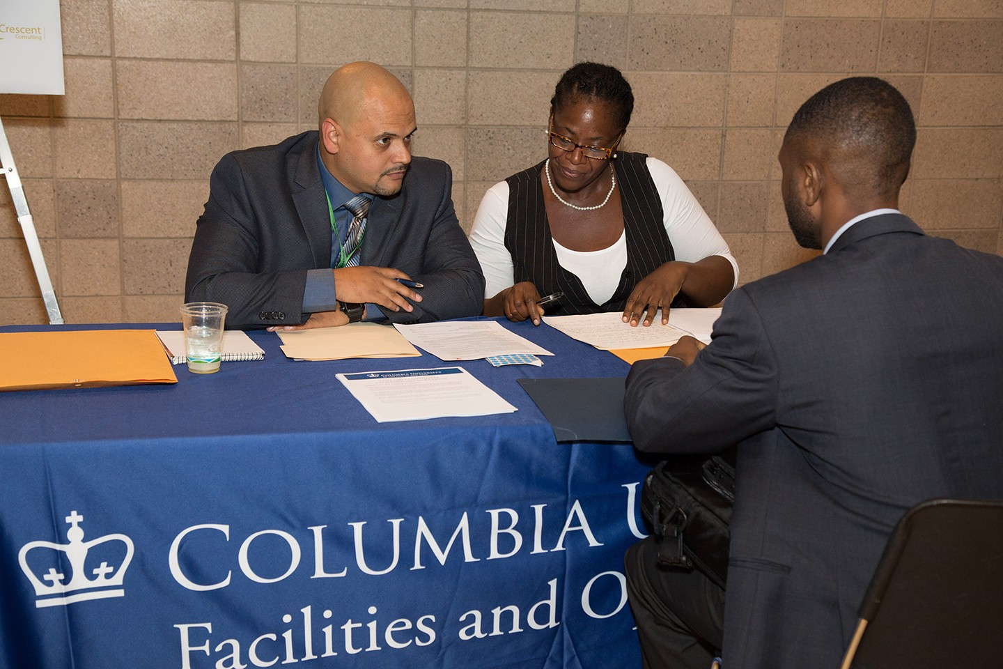 Columbia University, in collaboration with Congressmember Adriano Espaillat, is hosting a Career Expo on June 19 at Riverbank State Park. (Photo from September 2016 Career Expo; Credit: Christian Balmer)