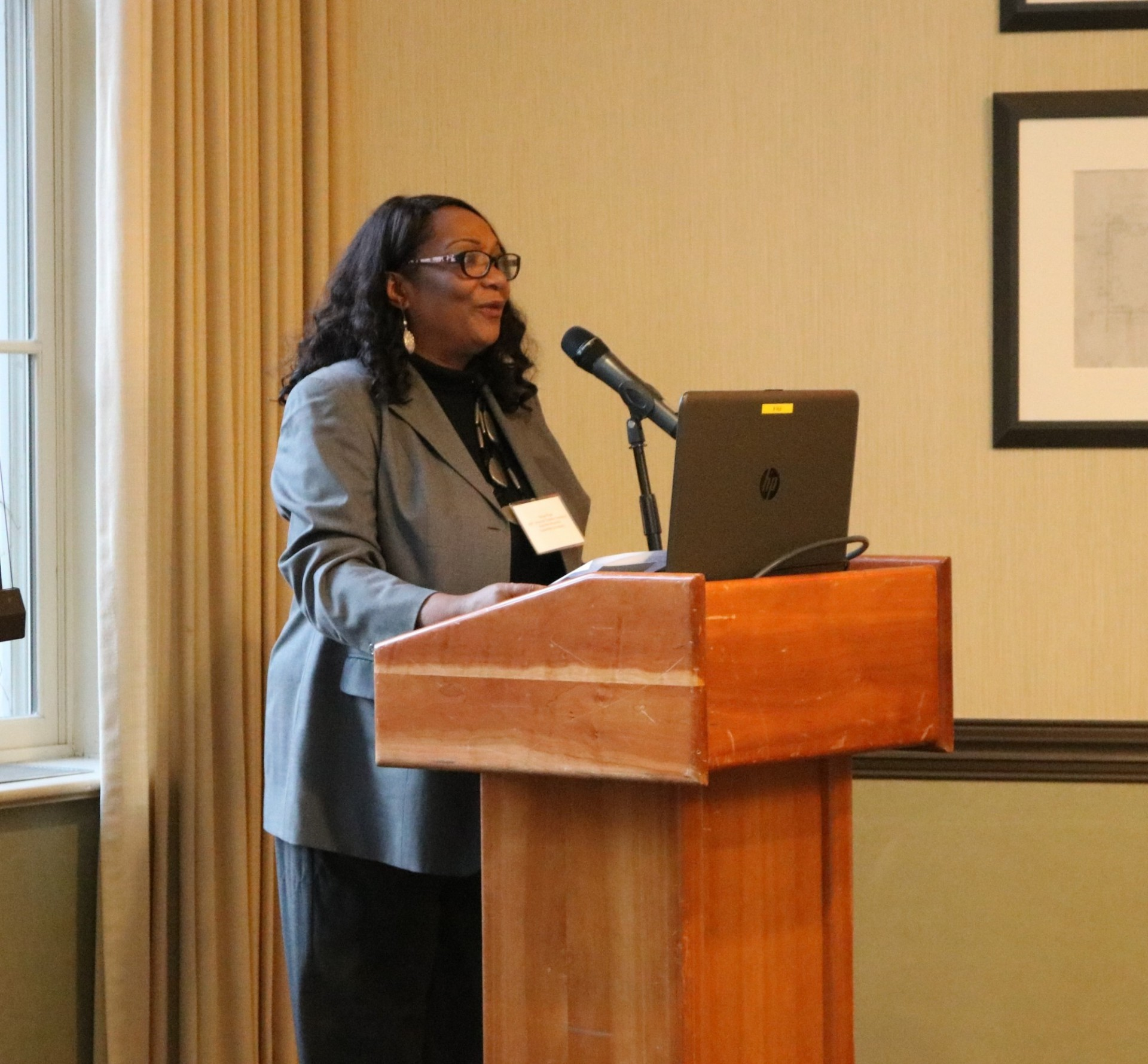 Tanya Pope, assistant vice president for University Supplier Diversity and Construction Business Initiatives