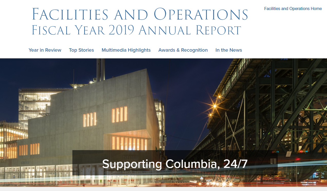 Fiscal Year 2019 Annual Report