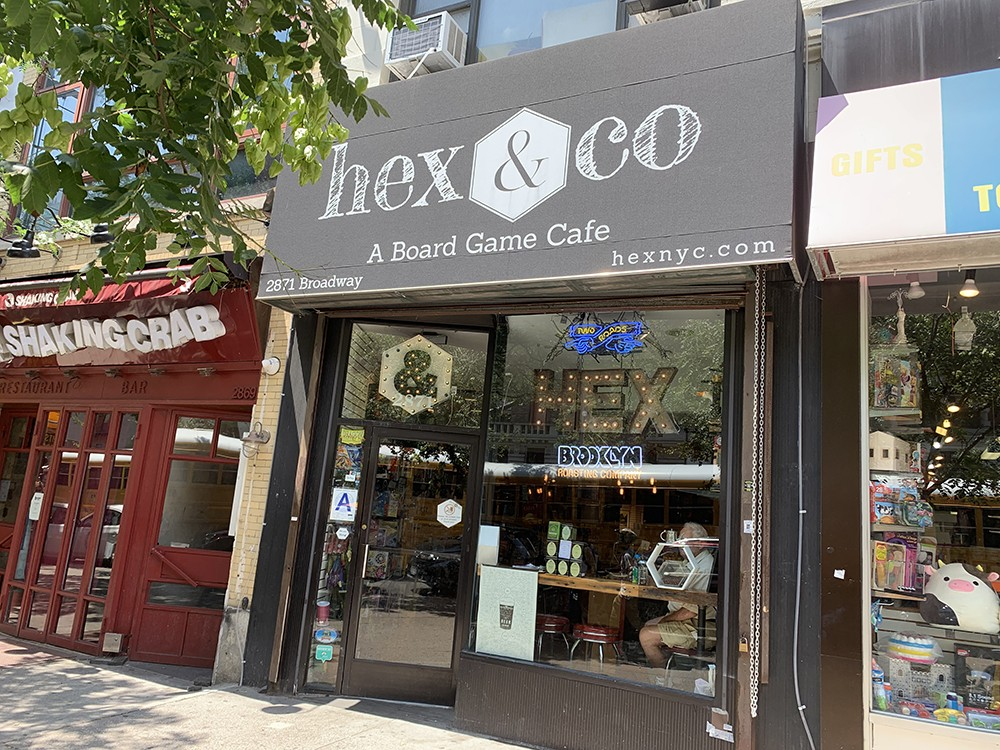 Hex & Co's current storefront at 2871 Broadway