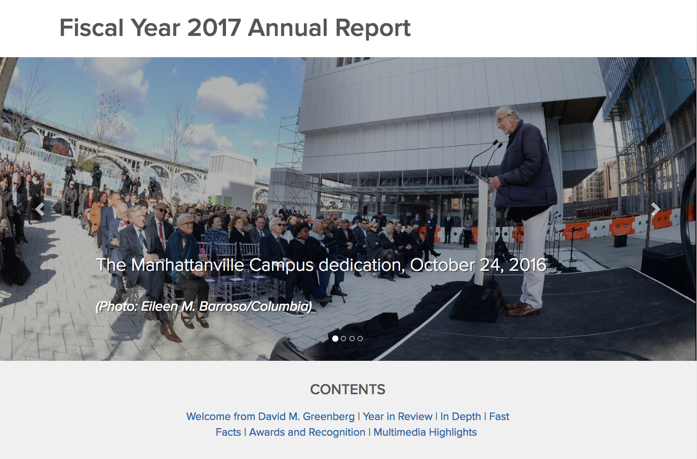 Facilities and Operations FY 2017 Annual Report