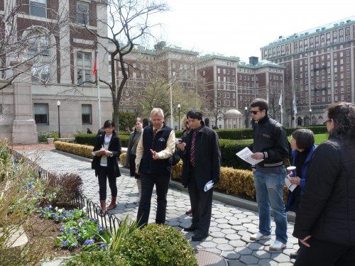 Community Members Enjoy April 6th Garden Tour