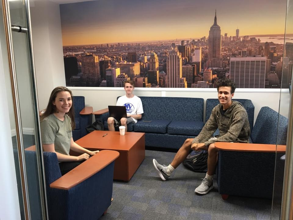 CUFO increased student lounge space in Carman, pictured, and Wien halls.