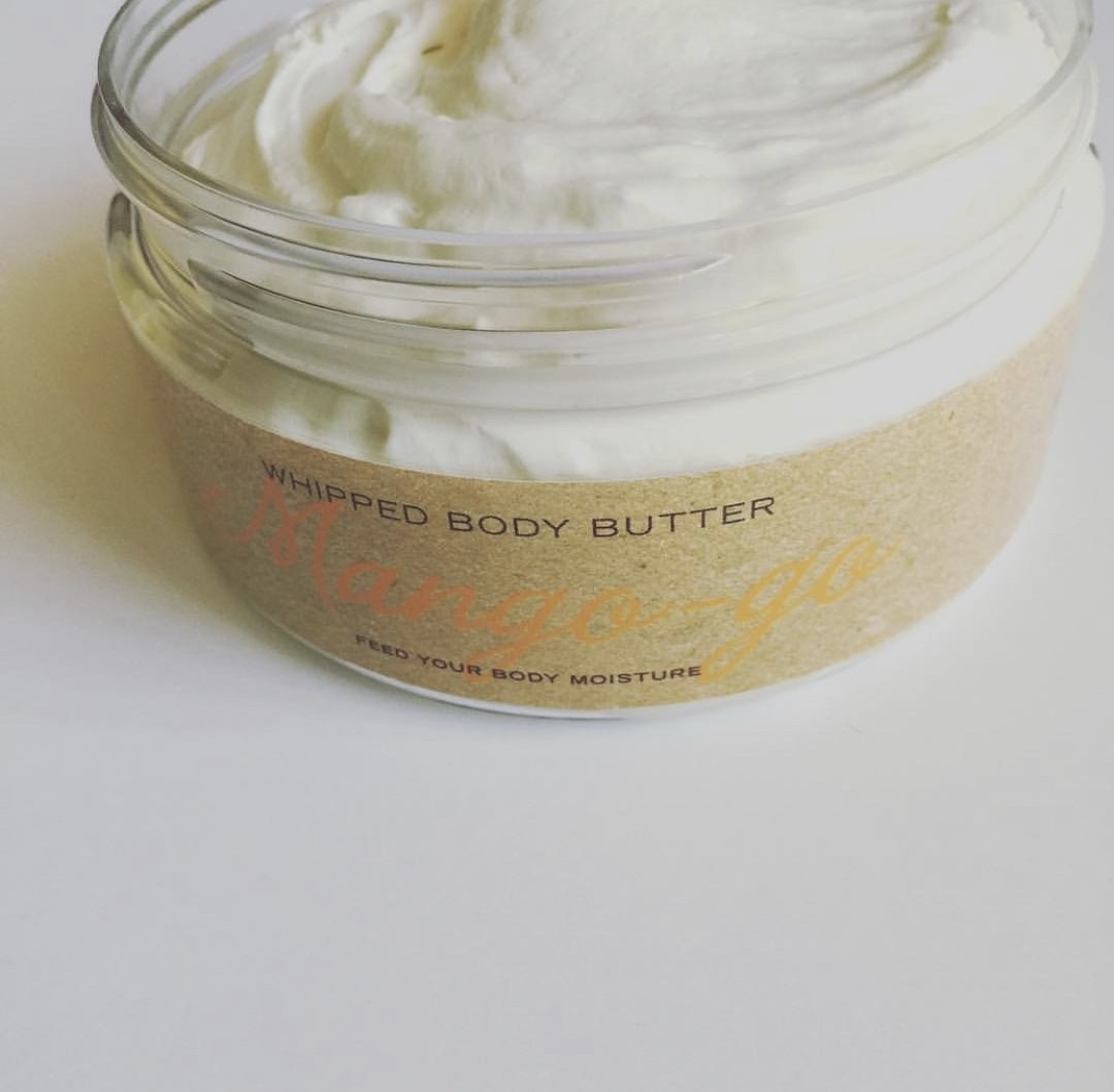 Photo of whipped body butter moisturizer