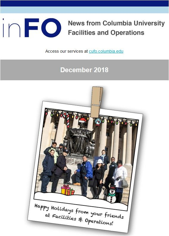 December 2018 edition of inFO